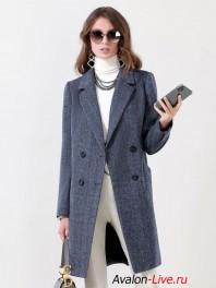 Женское демисезонное пальто Авалон 2645ПД 122