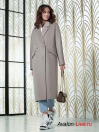 Женское демисезонное пальто Авалон 2666ПД WT19
