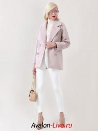 Женское демисезонное пальто Авалон 2674ПД WT23