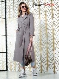Женское демисезонное пальто Авалон 2687ПД WT18