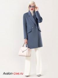 Женское демисезонное пальто Авалон 2703ПД WT19