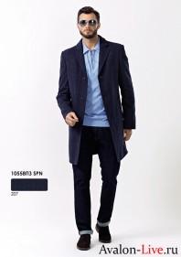 Зимнее мужское пальто 10558ПЗ SPN