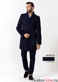 Зимнее мужское пальто 10570ПЗ 06