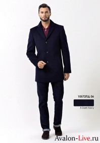 Мужское демисезонное пальто 10572ПД 06