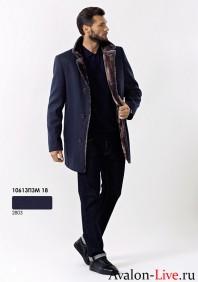 Мужское зимнее пальто 10613ПЗМ 18
