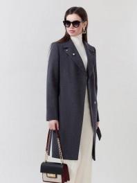 Женское демисезонное пальто 2584ПД WT8,W18