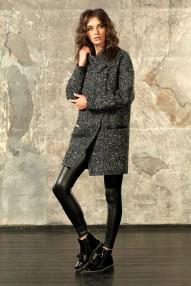 Пальто демисезонное AlmaRosa  N19 ПД W16