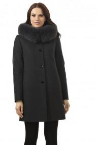 Пальто зимнее Молодежное Авалон с капюшоном 2324 ПЗ WT8