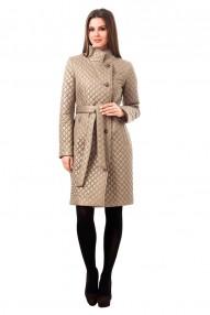 Утепленное пальто из стеганой плащевой ткани Авалон(Хит Продаж)  2166 СУ120 78AB
