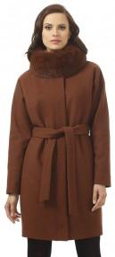 Авалон женское зимние пальто цвета бронза меланж 2207 ПЗ WT8