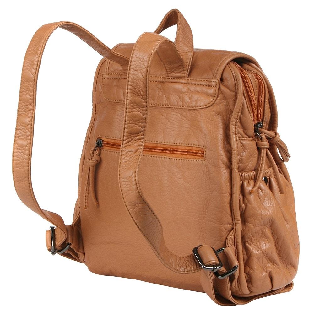 Рюкзак бежевый женский
