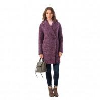 Пальто женское демисезонное Almarosa N21ПД GM