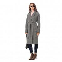 Пальто женское демисезонное Almarosa N35ПД VS1