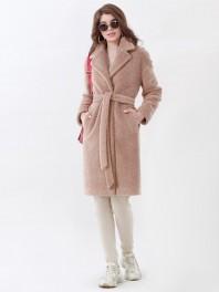 Пальто женское меховое демисезонное Авалон 2669ПМ ZZ