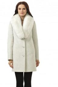 Пальто зимнее женское Авалон,молодежное пальто прямой силуэт, в боковых шлицах - кнопки. 2320 ПЗ WT8