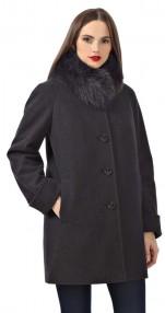 Пальто женское короткое зимние Avalon ,в цвете рубиновый меланж 2119ПЗ WT7