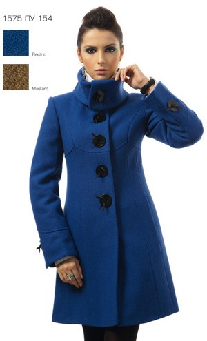4087bf346d0 Пальто женское Авалон 1575ПУ 154 - Купить в Москве- Интернет магазин ...